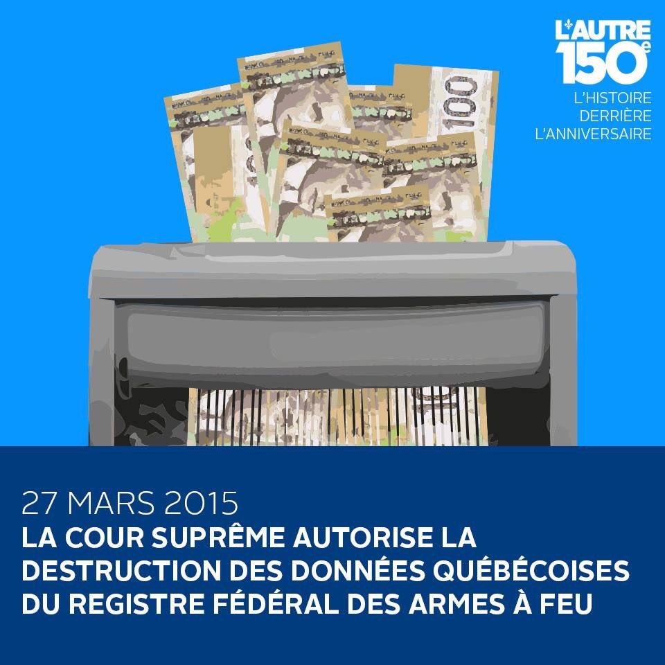 27 mars 2015 - Le Québec devra refaire un travail pour lequel il a déjà payé   https://www. facebook.com/autre150e/post s/1318304958236612:0 &nbsp; …  #polqc #polcan #canada150 <br>http://pic.twitter.com/lOjrds9IZi