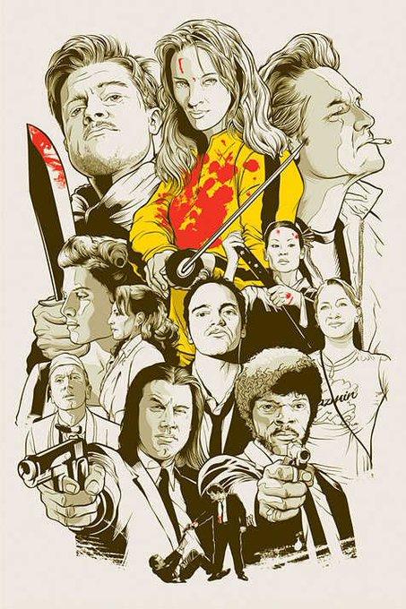 Happy Birthday to filmmaker Quentin Tarantino!  #