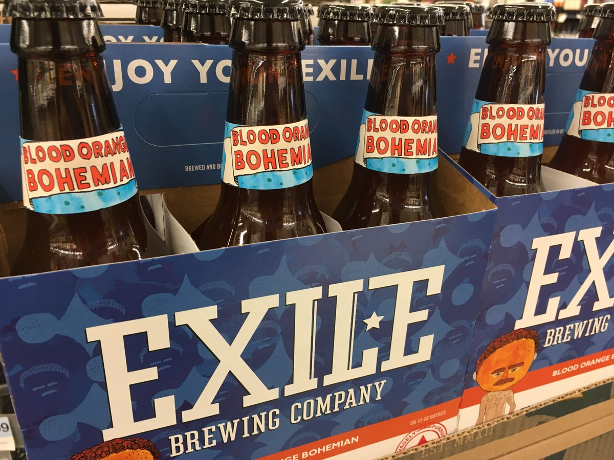 Blood Orange Bohemian from @ExileBrewingCo has arrived at your West La...
