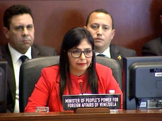 Denuncia Venezuela servilismo de Almagro ante el Imperio