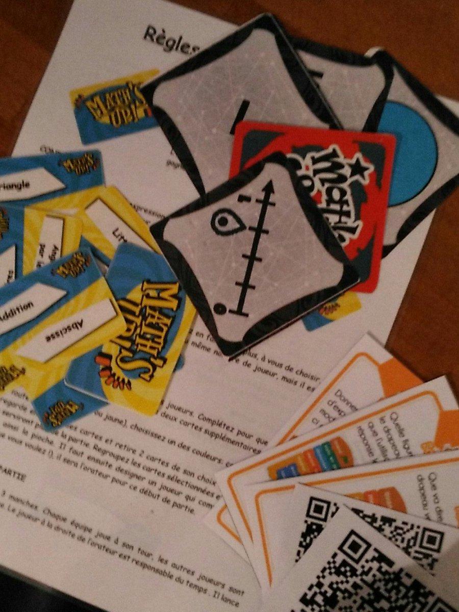 Les jeux sont prêts pour la formation de demain sur l&#39;#attractivité des #maths. #CAFFA<br>http://pic.twitter.com/SSUPgLC8Dk