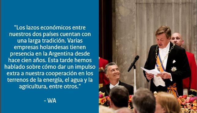 El rey pronuncia un discurso durante la #visitadeEstado, en el palacio de Amsterdam https://t.co/lBFUrHf2NB #NLARG https://t.co/MT5QuDmWN7