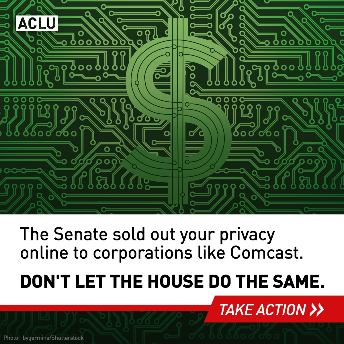 House votes tomorrow on (anti) #broadbandprivacy bill. Call your rep!...
