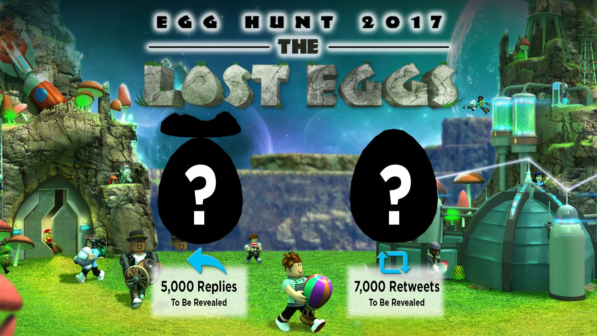 "Roblox on Twitter: ""Can you meet our 2nd #EggHunt2017 ..."