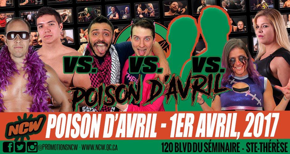 4-corner tag team elimination match! #lutte #wrestling #canada #quebec #montreal #laval  @hashtag_thebest @mapmainz @MaryLeeRoseNCW<br>http://pic.twitter.com/1pnudneCCr