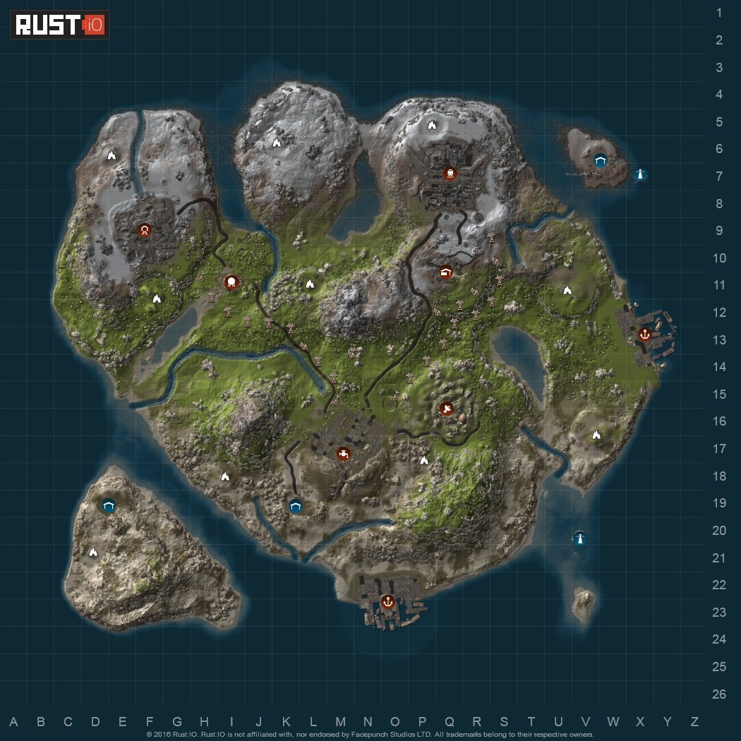 All Rust Maps