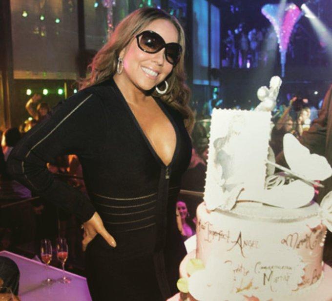 Happy Birthday Mariah Carey!     March 27, 1970.