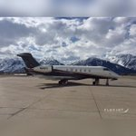 Taking a moment to admire the scenery in Jackson, #Wyoming. #Challenger350
