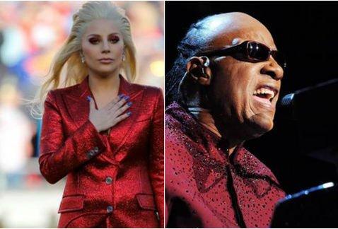"y Stevie Wonder le cantan \""Happy Birthday\"" a Elton John"