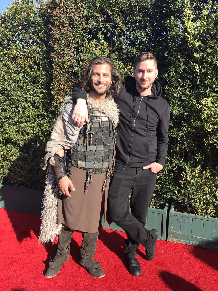 Happy Birthday @kcmonnie! Here&#39;s we are earlier this year opening the #goldenglobes!   Love you brother! #mrrobot #gameofthrones<br>http://pic.twitter.com/y06cqf1GY4 &ndash; à The Beverly Hilton