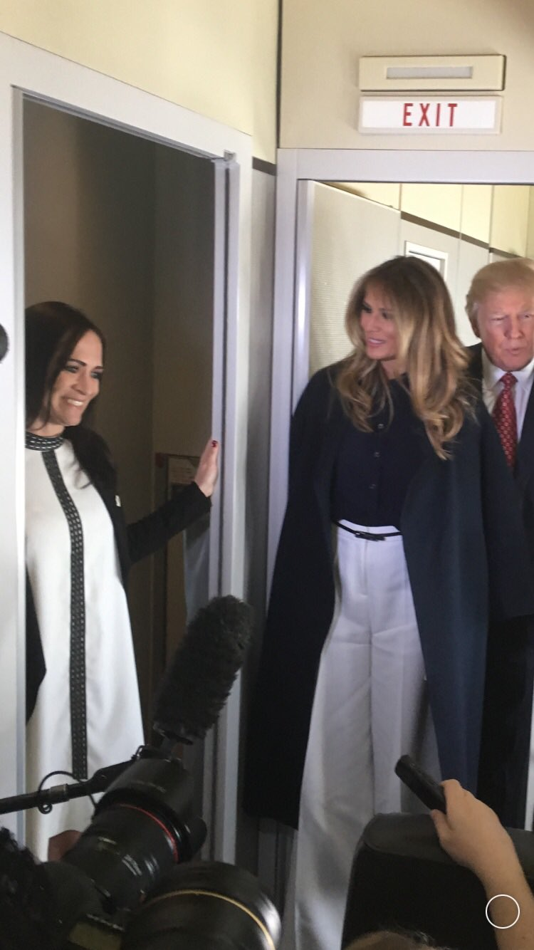 "Jennifer Jacobs on Twitter: ""White House says Melania ..."