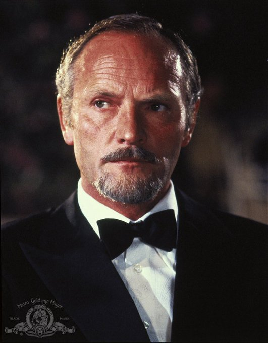 Happy 82nd birthday to Julian Glover, who menaced in FOR YOUR EYES ONLY.