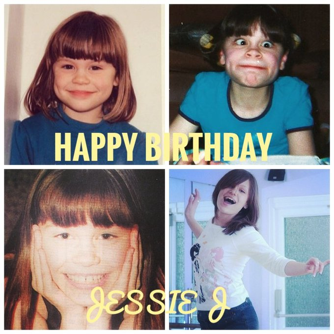 HAPPY BIRTHDAY JESSIE J once again!