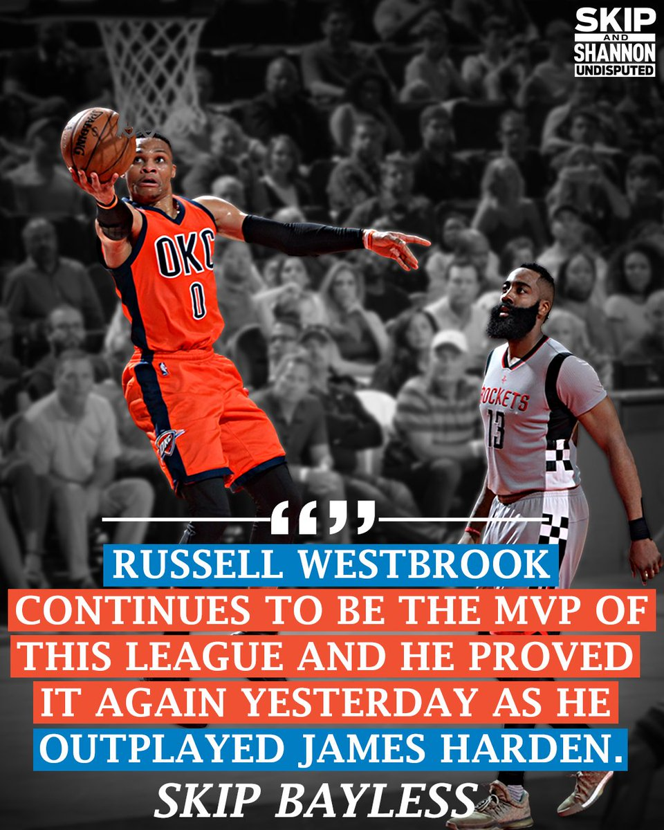 "undisputed on twitter: ""and the nba mvp award goes to russell"