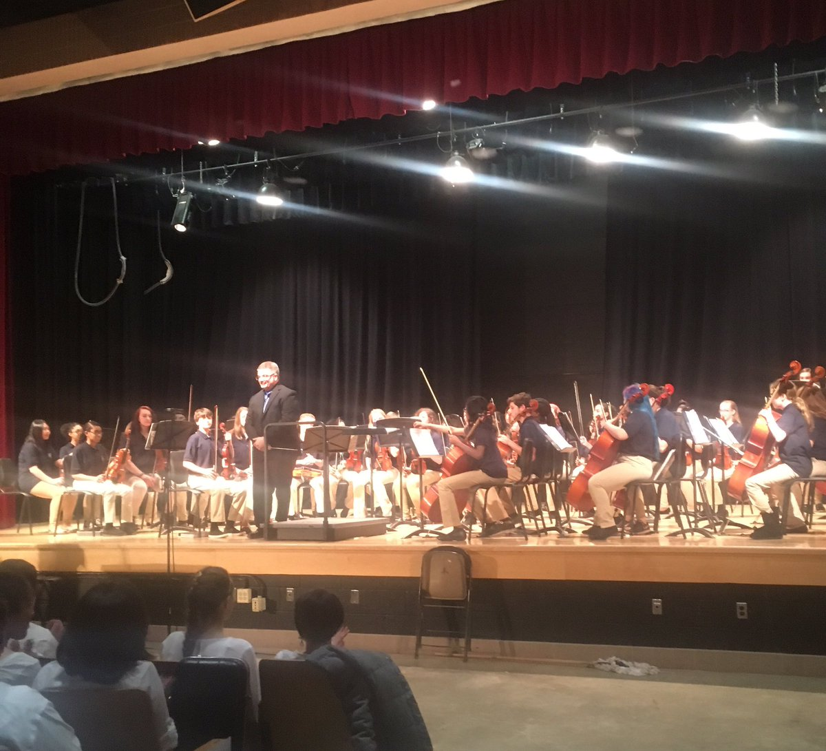 Franklin Middle Honors Orchestra at County Assessment today. #musiced #loveourkids #bcpsmakes<br>http://pic.twitter.com/QZ2EIzVdPc