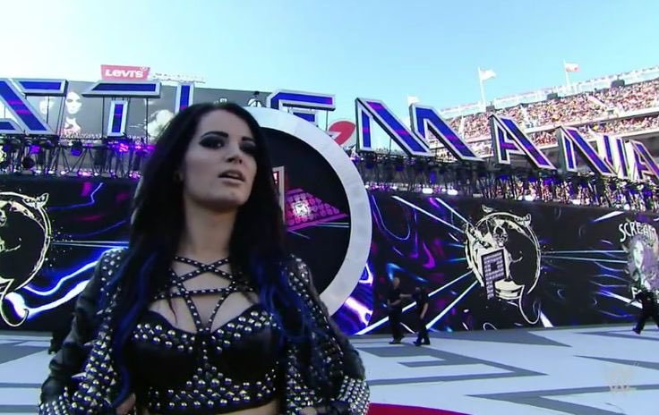 Days!! Here is a #Throwback of @RealPaigeWWE and @AJBrooks at #WrestleMania 31 #TeamPaige #TotalDivas #Paige #AJLee #WWE <br>http://pic.twitter.com/GugRBFr14v