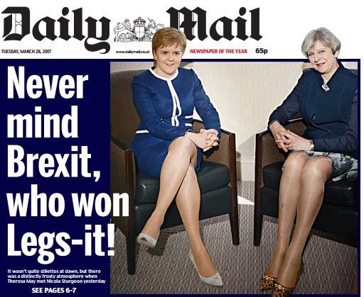 The Daily Mail. Edited by adolescent teenage boys. https://t.co/D2EYTU...