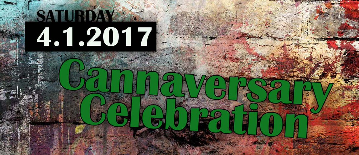 Can&#39;t wait for our Cannaversary party! Join us for $3 joints, 15% off oils, 20% off drinks, 30% off select edibles, BOGO &amp; more! #wapot #pdx <br>http://pic.twitter.com/E9Iuccwh9o
