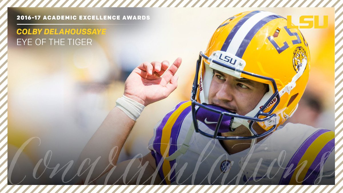 Congratulations to Colby Delahoussaye, Leonard Fournette and J.D. Moor...