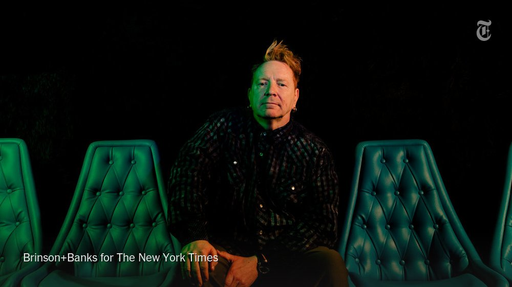 One of John Lydon's (aka Johnny Rotten) biggest inspirations? Robin Wi...