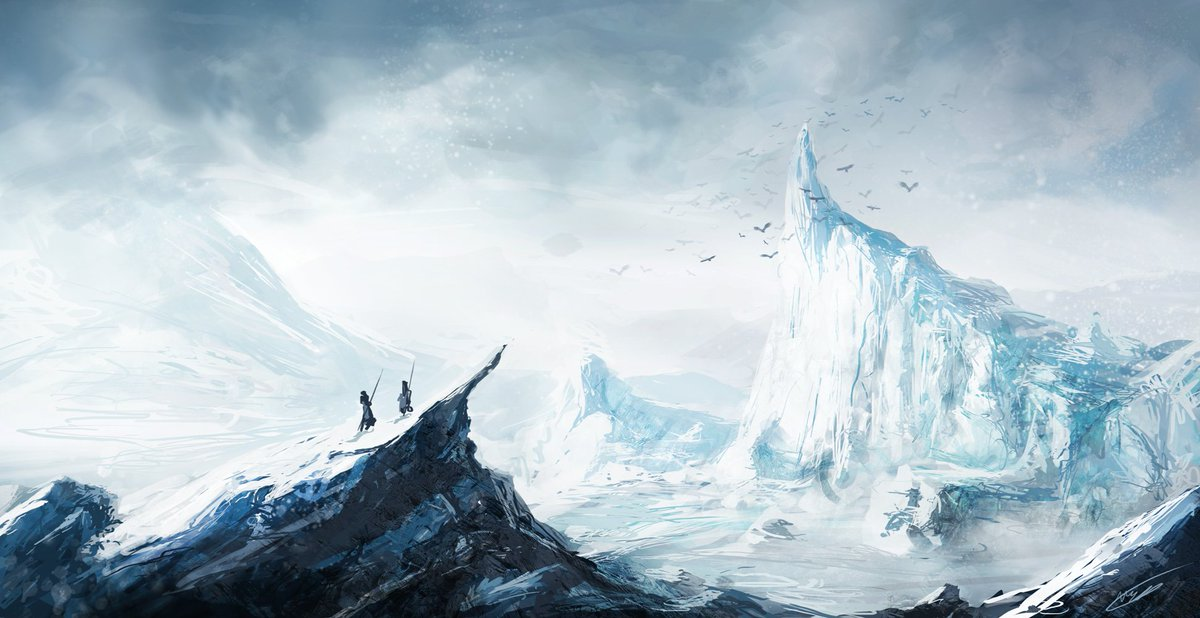 The Grand Journey Artist: Nathanaël Monney Visit:  http:// bit.ly/2mKIWCj  &nbsp;   #fantasy #arctic #winter #ice #adventure #glaciers #gsotd2017<br>http://pic.twitter.com/uvH7O7txYJ