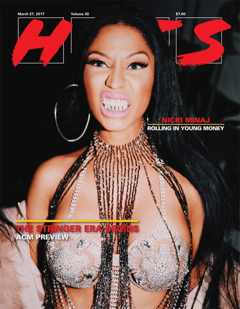 On the cover of our latest print edition: the ferocious @NICKIMINAJ. Follow https://t.co/ISkVbY1lLU for more pics. https://t.co/ABGpCjRyby
