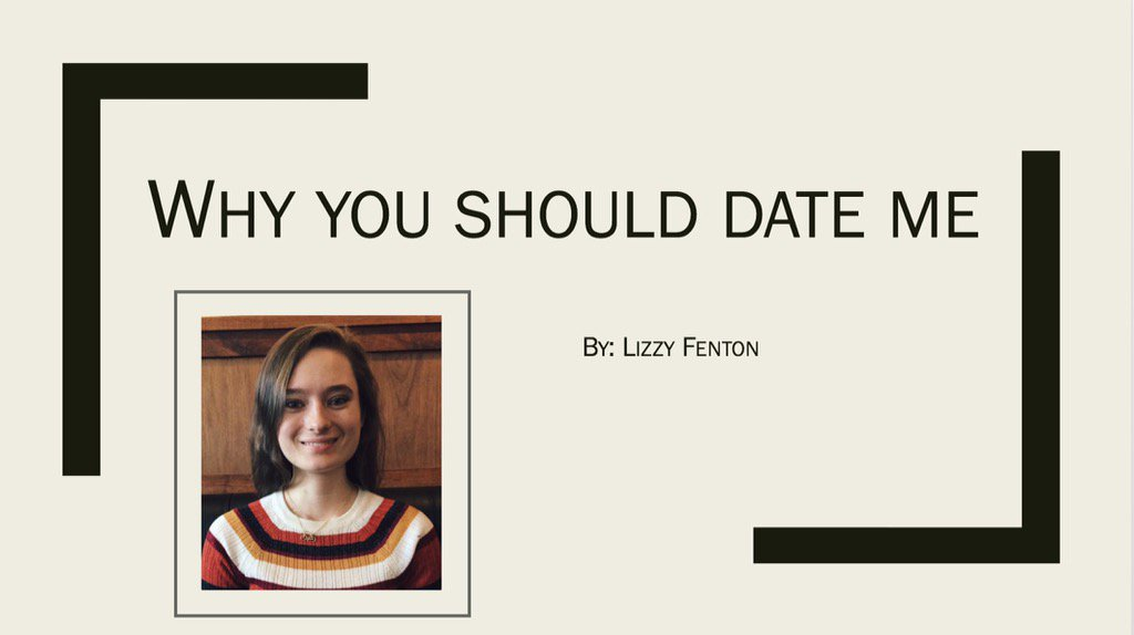 lizzy fenton on i just emailed this powerpoint to my  lizzy fenton on i just emailed this powerpoint to my crush carter do you think it ll work