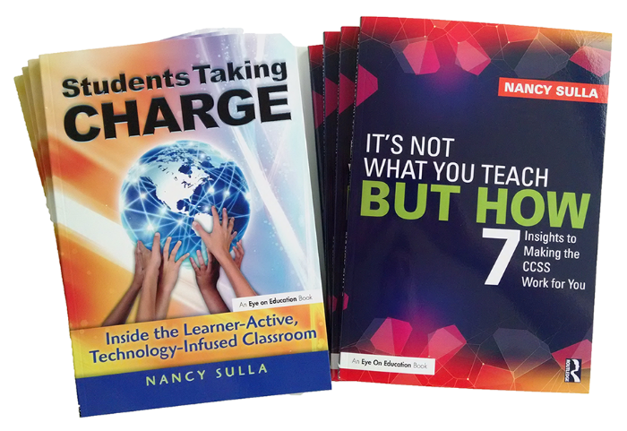 Dr. Nancy Sulla here at #masspchat; creator of the Learner-Active, Technology-Infused Classroom #LATIC; Pres @IDECorp; author of: https://t.co/pbxaHXBevB