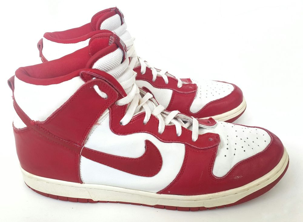 competitive price ceed9 4605a 2002 Nike Dunk High White Varsity Red Vintage Jordan Be True To Your School  Sz13  nike  dunkhigh  jordan… http   dlvr.it NkvW7y  pic.twitter.com wFHLrUYoL9