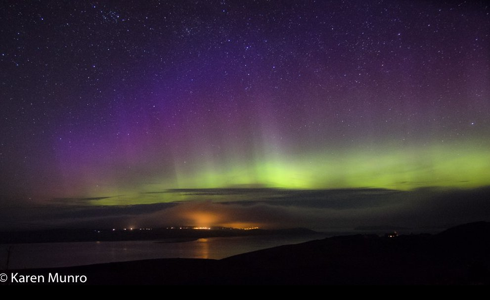 Thanks to @kasmunro for another #aurora picture - this one taken from...