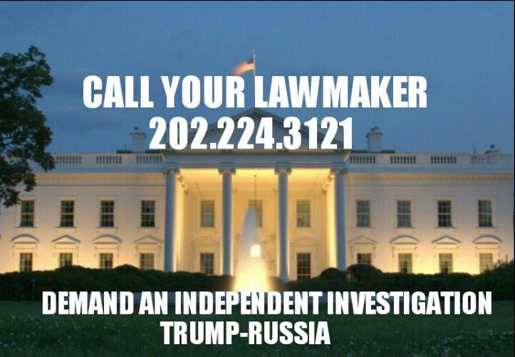 INVESTIGATE #TRUMP&#39;s TIES TO #PUTIN &amp; #RUSSIA!  WE NEED AN INDEPENDENT INQUIRY!   #TheResistance #Election2016 #Russiagate #TrumpRussia<br>http://pic.twitter.com/ZtqHdUmzBS