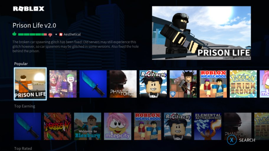 Roblox On Twitter All The Roblox Games You Love On Xbox One