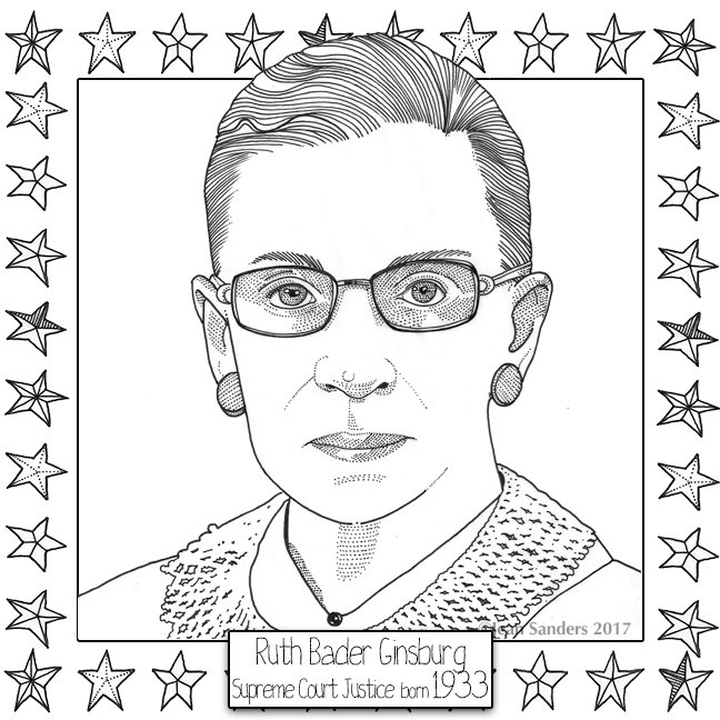 Happy 84th birthday to Ruth Bader Ginsburg!