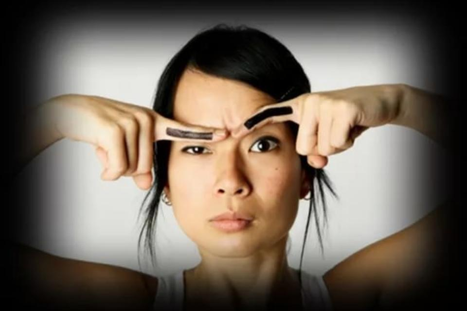 Приколы про брови женские картинки