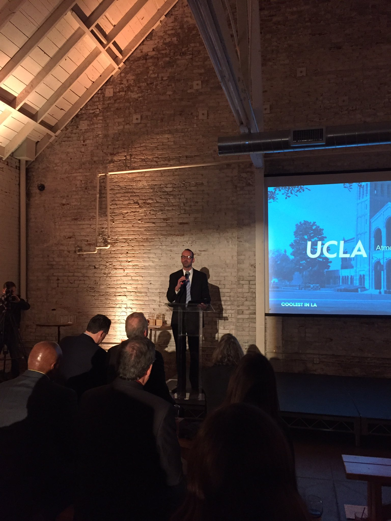 We've seen LA make astonishing progress on #climate since sharing studies to localize climate data - @ucla Professor Alex Hall #coolestinla https://t.co/AXZ0BNJ5Db