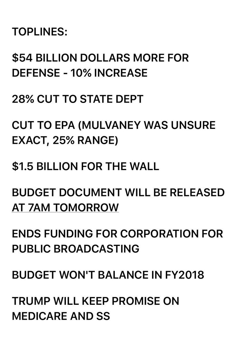 breaking trump budget blueprint outlines deep cuts to state 28