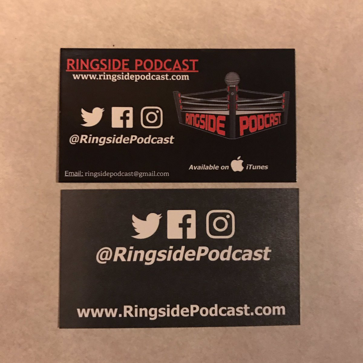 #RingsidePodcast #ProWrestling #Ringside #WWE #SDLive #RAW #ImpactWrestling #ROH #EVOLVE #NXT #WWENXT #OVW #PWMania #PipeBomb #ThisIsAwesomepic.twitter.com/sgfskj3pWj