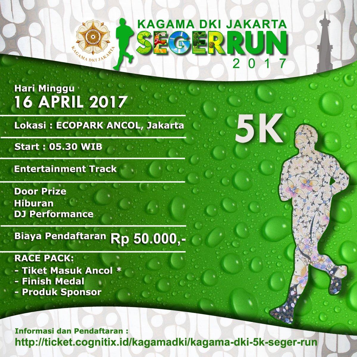 Kagama DKI Jakarta SegerRun • 2017
