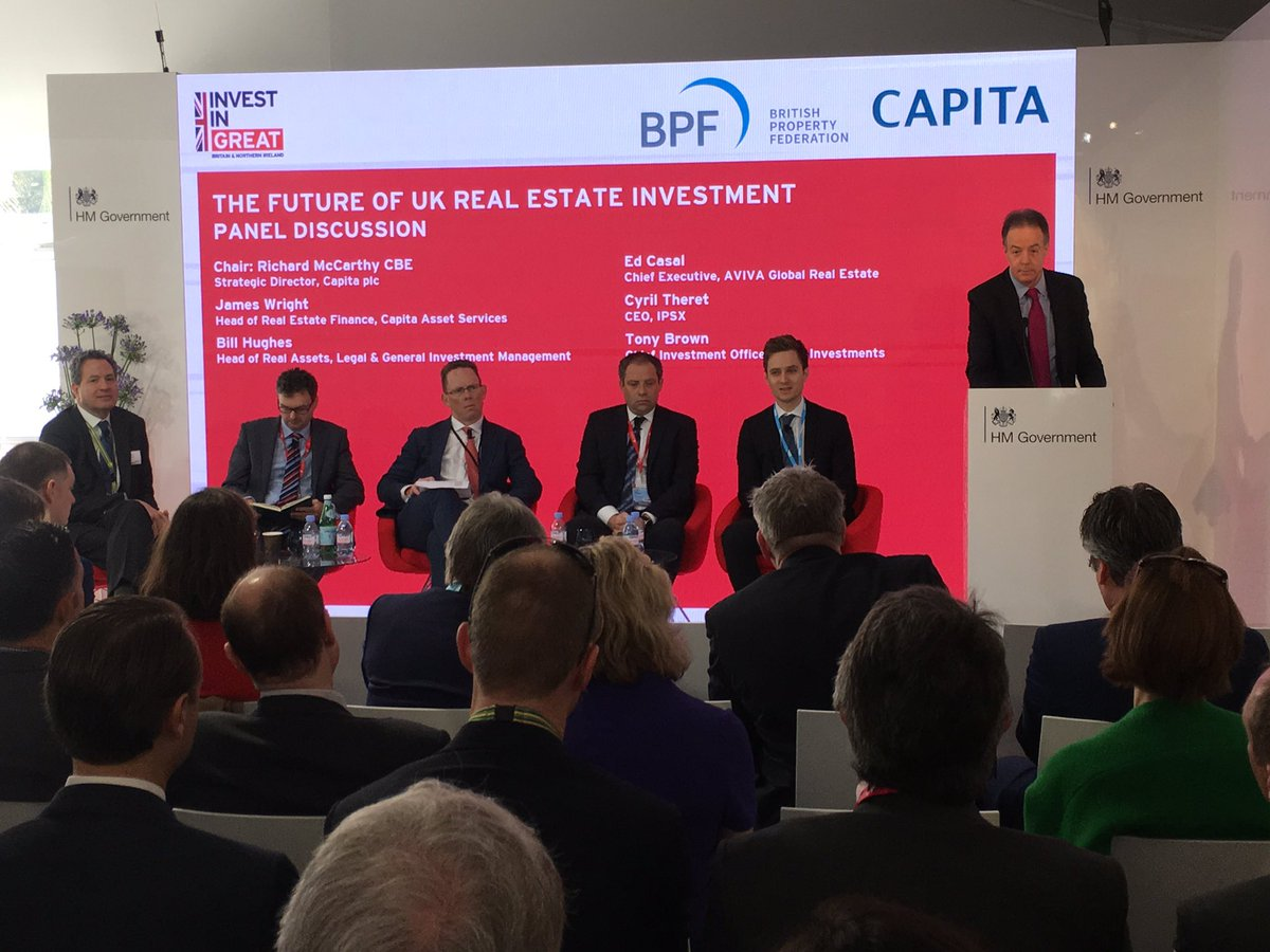Bill Hughes #LGIM advocates increasing focus on occupier customers as response to #Brexit uncertainty #Mipim