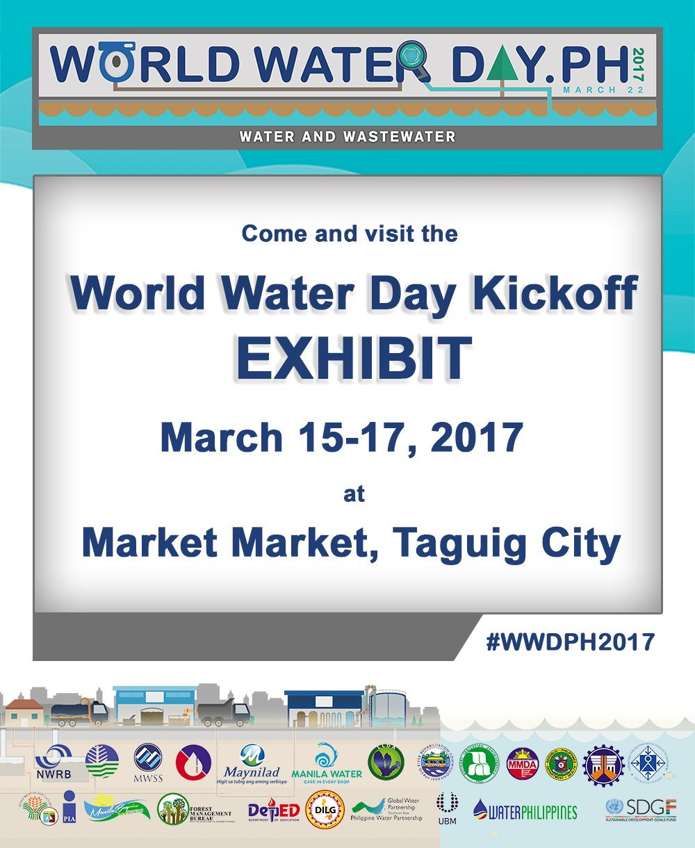 Come and visit the World Water Day Exhibit! #WWDPH2017 https://t.co/P7iIr8IL9K