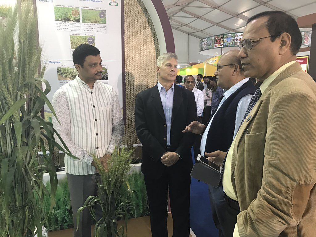 ICRISAT and ICAR Join Hands for Crop Improvement