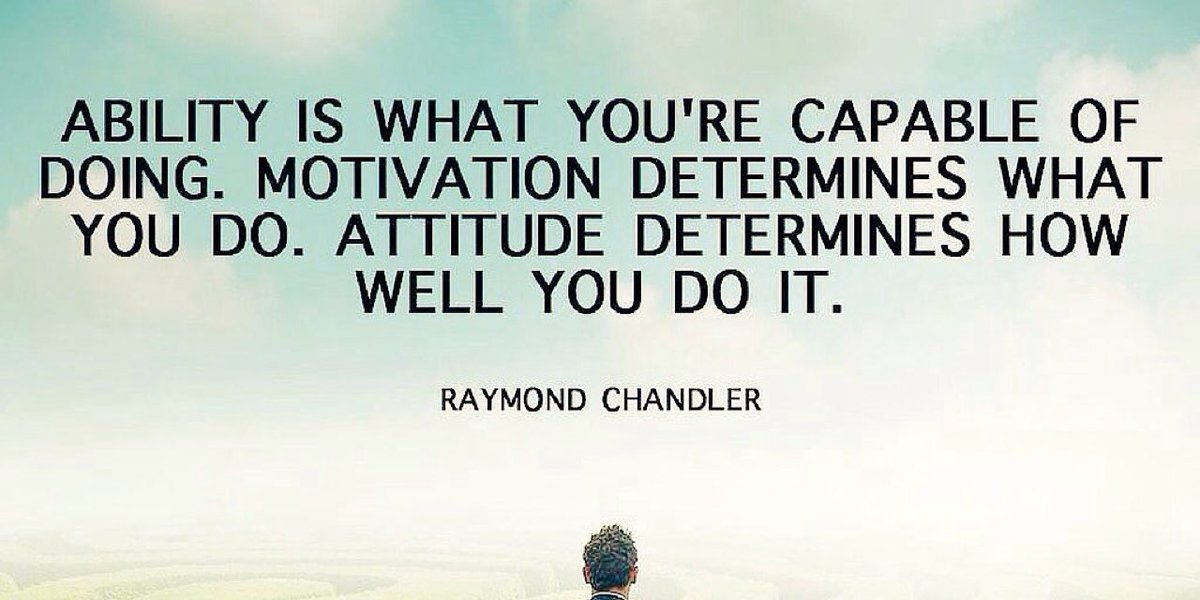 Our Attitude will always determine Our Altitude. Our Attitude is a per...