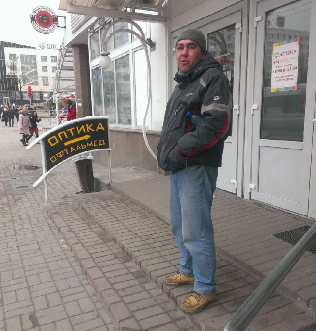 Provocateur who shouted Glory to Russia! at protest in Vitebsk is now begging for money for wine.