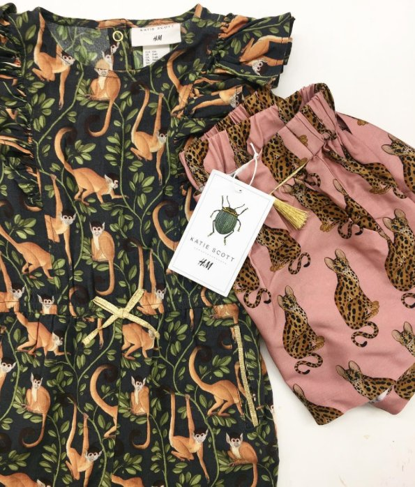 Out next week. Katie Scott • H&amp;M Kids collection. @hm #hmkids #squirrelmonkey<br>http://pic.twitter.com/a1JEd0gNfw