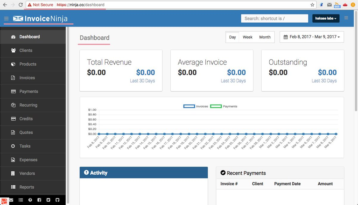 Howtoforge On Twitter How To Install Invoice Ninja A Webbased - Open source invoice app