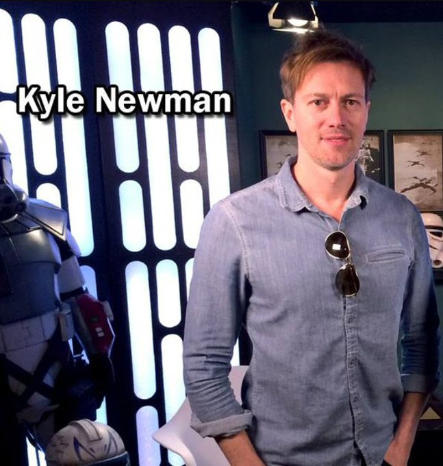 Happy Birthday to Friend of the Legion Kyle Newman ( May The Force Be With You!