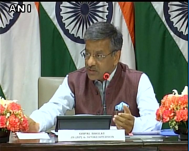 Reject Pakistans efforts to meddle in Indian affairs, our judiciary needs no self serving sermons: Gopal Baglay, MEA on Pakistan remark on Aseemanand