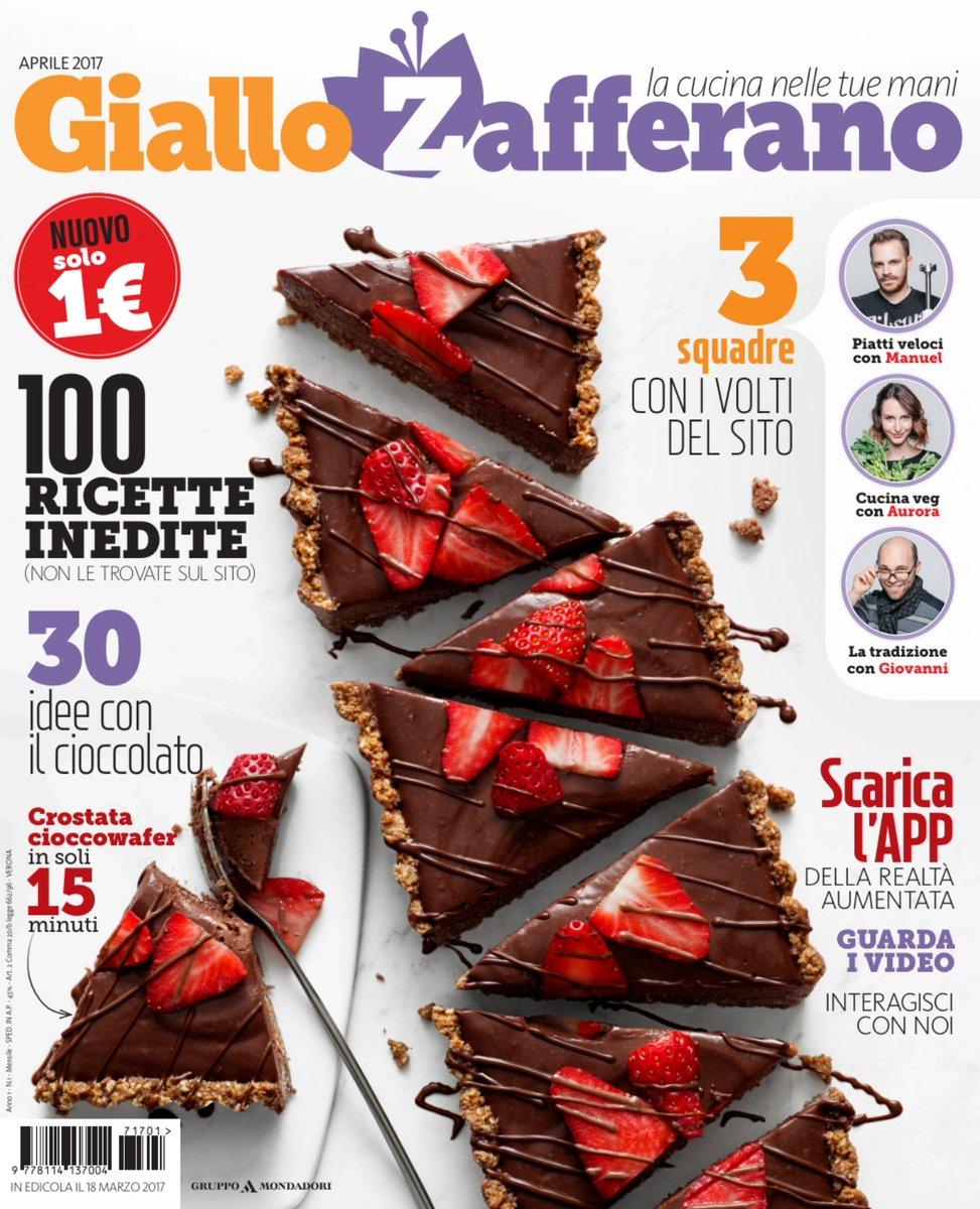 gruppo mondadori on twitter ecco in super anteprima la copertina del nuovo mensile giallozafferano il magazine che nasce dal sito di cucina pi famoso
