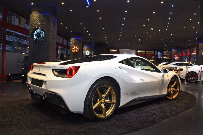 """Prime Falcon Motors LLC on Twitter: """"2016 Ferrari 488 GTB Mileage: 3,819 KM Done In Stock For more details: Call: +97156 4086187 Email: ..."""