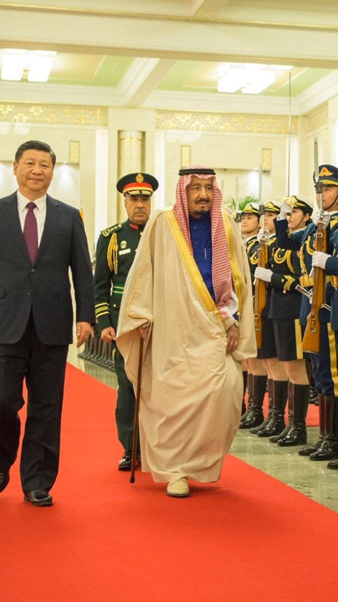 SaudiArabia and China signed MoUs and letters of intent potentially worth about $65 billion